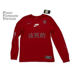 New Nike x TDE Kendrick Lamar Long Sleeve T-Shirt Sz Small