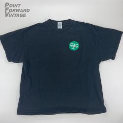 "Vintage 90s Boondock Saints ""Kiss My Ass I'm Irish"" T-shirt Black Men's Size XL"